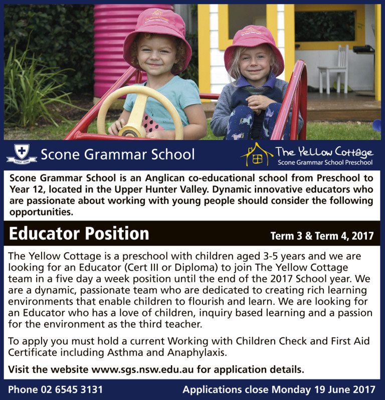 Educator - TYC - June 2017