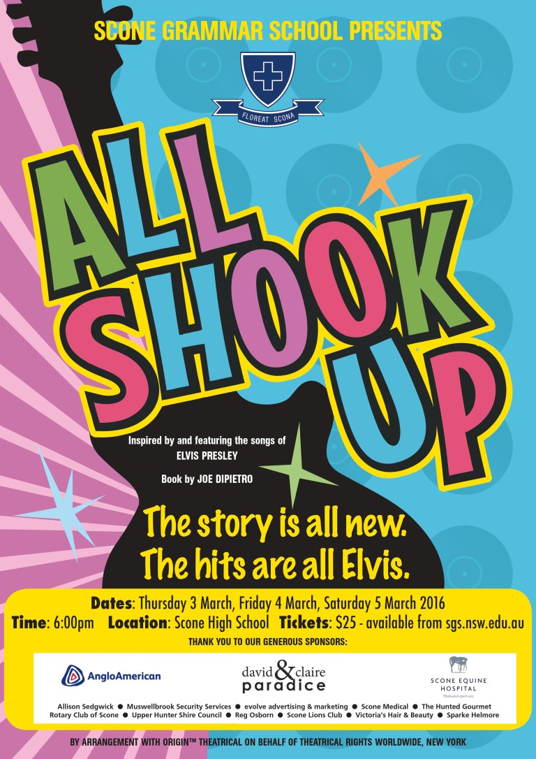 All Shook Up Poster - jpeg