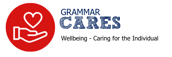Grammar CARES website banner