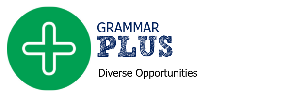 Grammar PLUS website banner